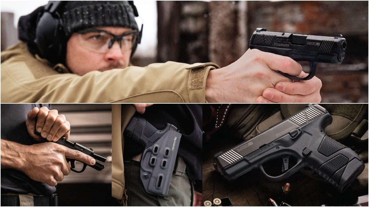 Mossberg back in the pistol game with new MC1sc subcompact 9mm (VIDEO)