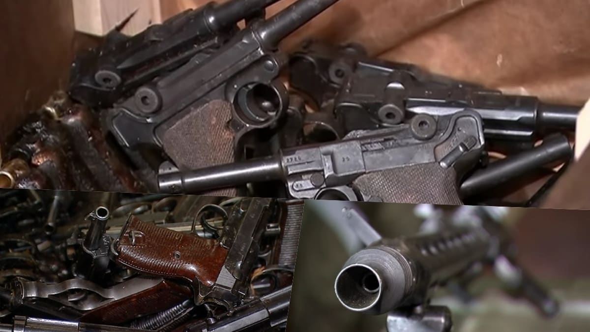 Russians to pave military church with captured German WWII-era guns (VIDEO)