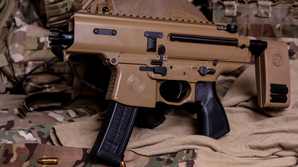 Sig releases new 9mm MPX Copperhead braced pistol (VIDEO)