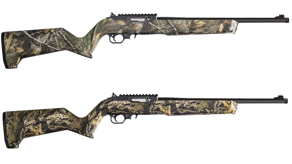 Thompson/Center Arms adds to T/CR22 line with camo variations