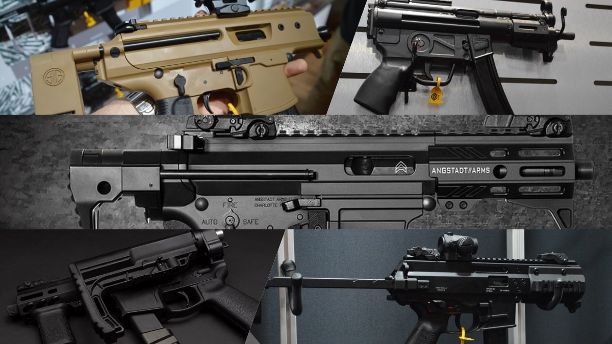 The Army's Sub Compact Weapon program and the guns that it spawned (PHOTOS)