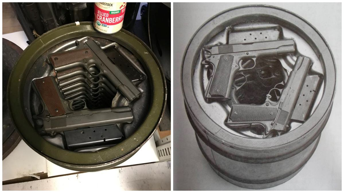 1911, pistol, .45acp