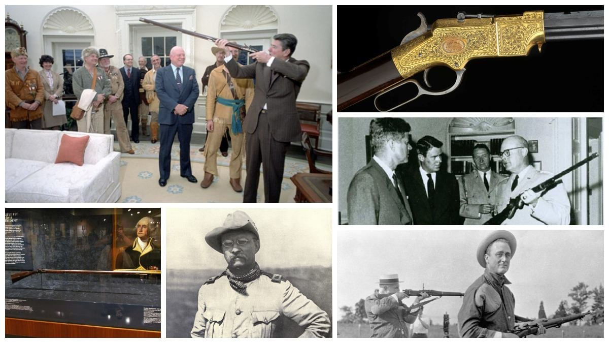 A look at the guns of the Presidents (PHOTOS)