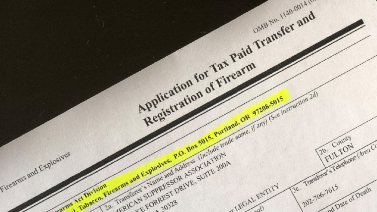 ATF changes payment vendor, updates mailing addresses on forms