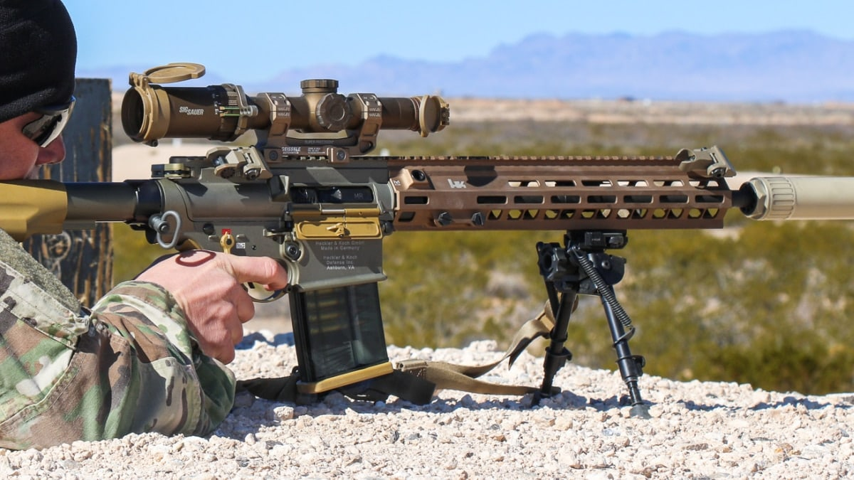 Army's new HK/Sig Squad Designated Marksman Rifle pops up in field tests (PHOTOS)