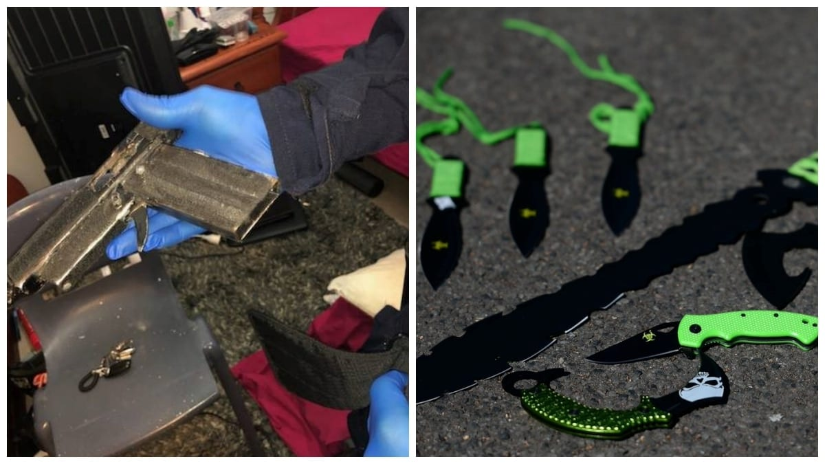 Australian police tout 'gun' bust while preparing to enforce ban on 'Zombie' knives