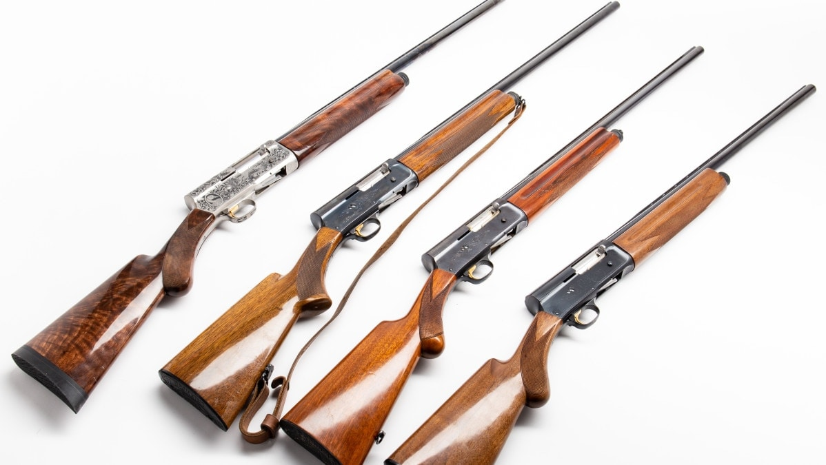 From the GDC Warehouse: The classic Browning Auto-5 'humpback' shotgun (PHOTOS)