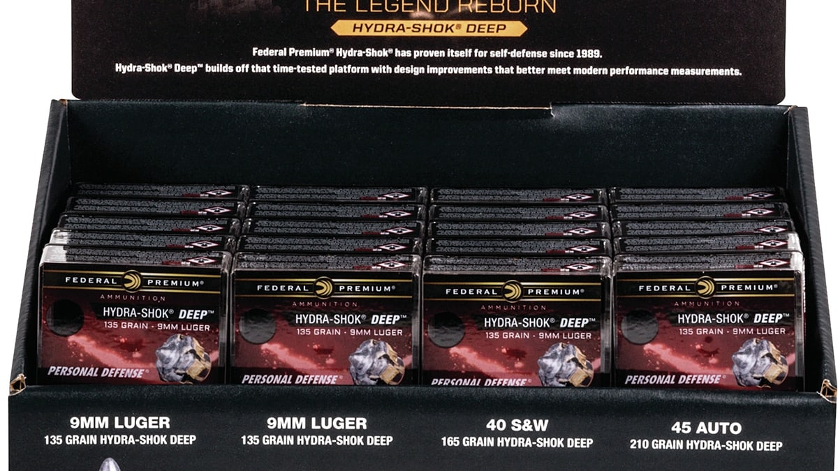 Federal brings more .40 S&W, .45 Auto loads to consumers