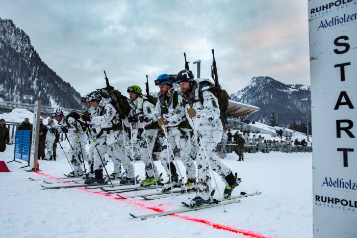 ski race, g3, rifle