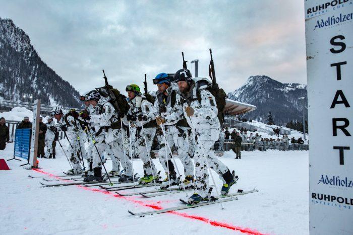 ski race, g3, rifle