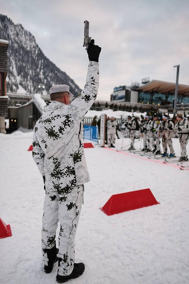 military, ski race
