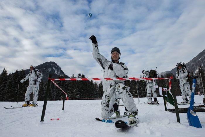 hand grenade, ski race