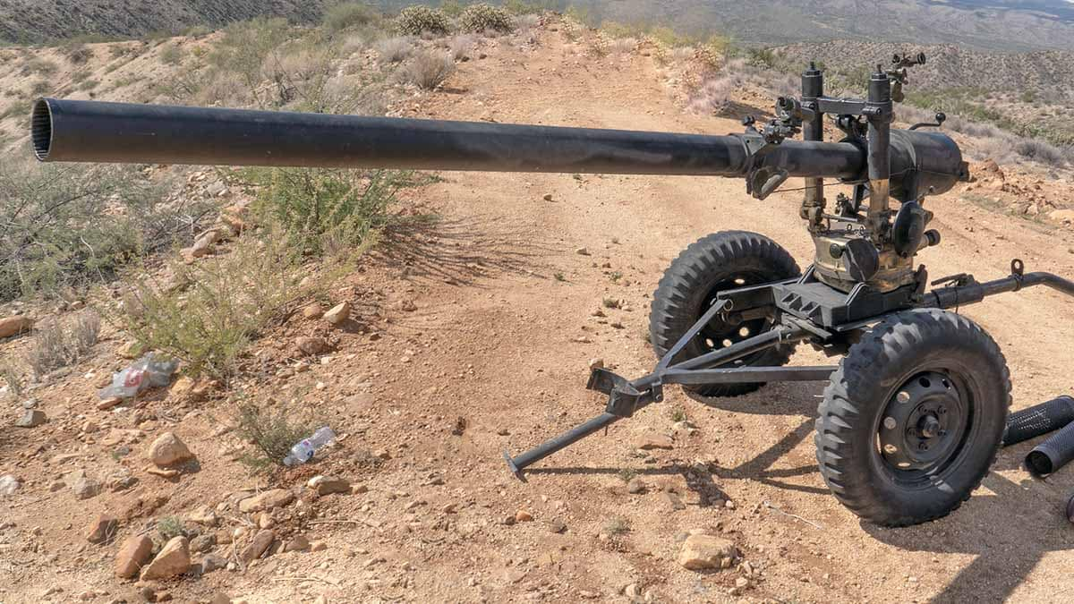 105mm recoilless rifle
