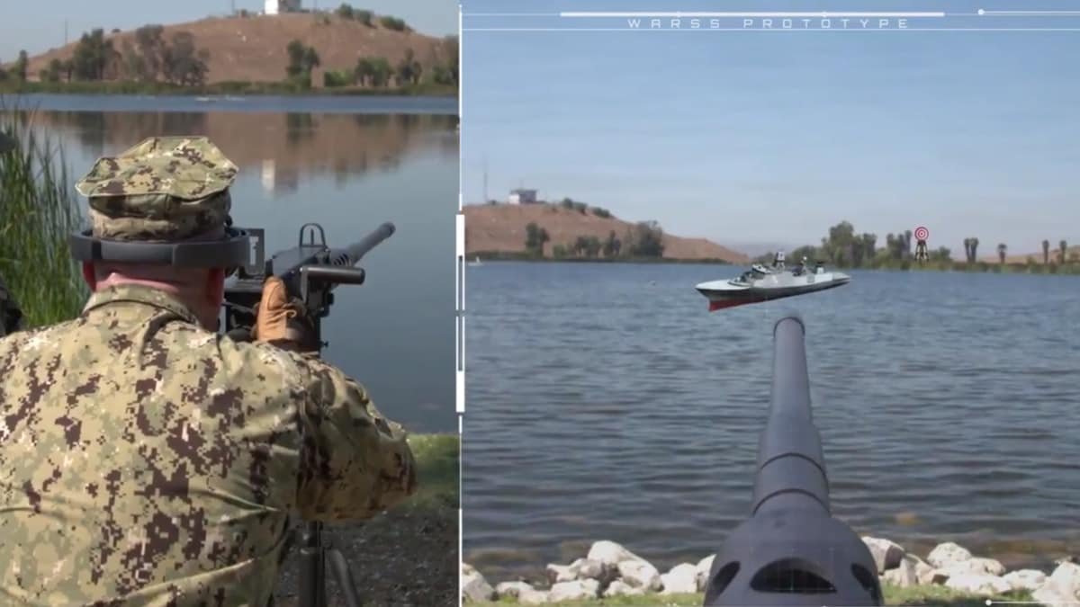 Navy taps augmented reality to improve firearms training (VIDEO)