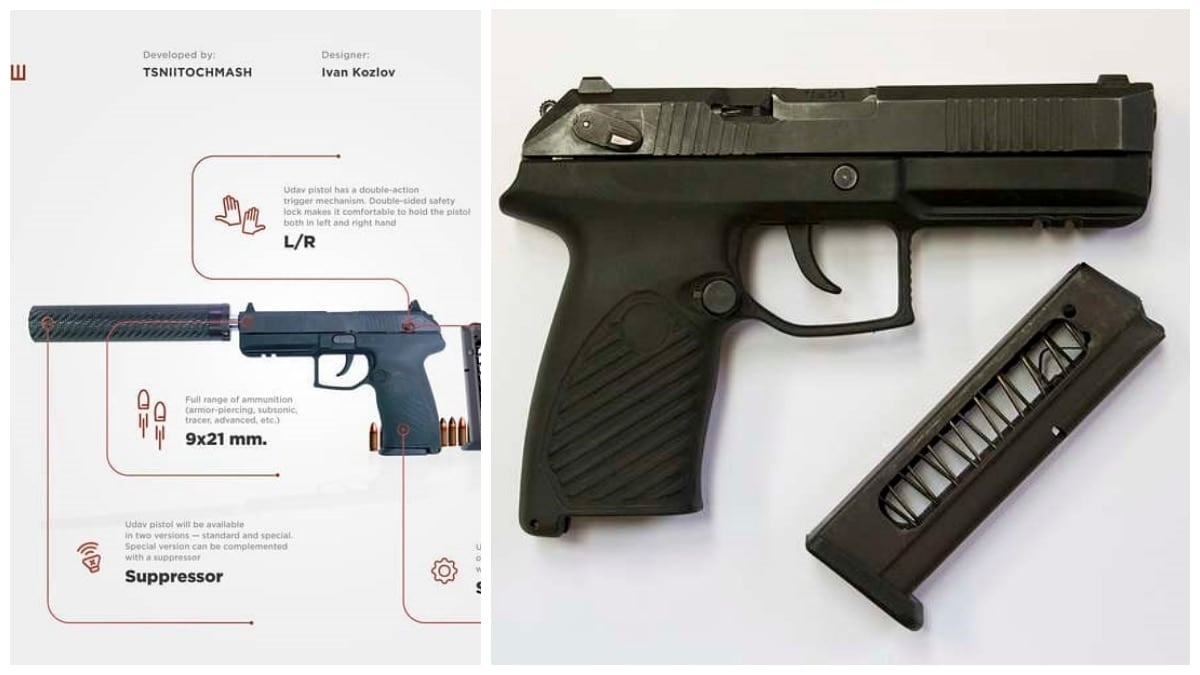 New Russian Udav pistol set to replace Makarov, vie for international sales