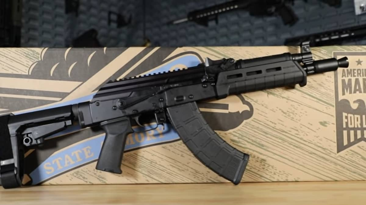 Palmetto State Armory announces AK-P 9mm Kalash-pattern braced pistol (VIDEO)
