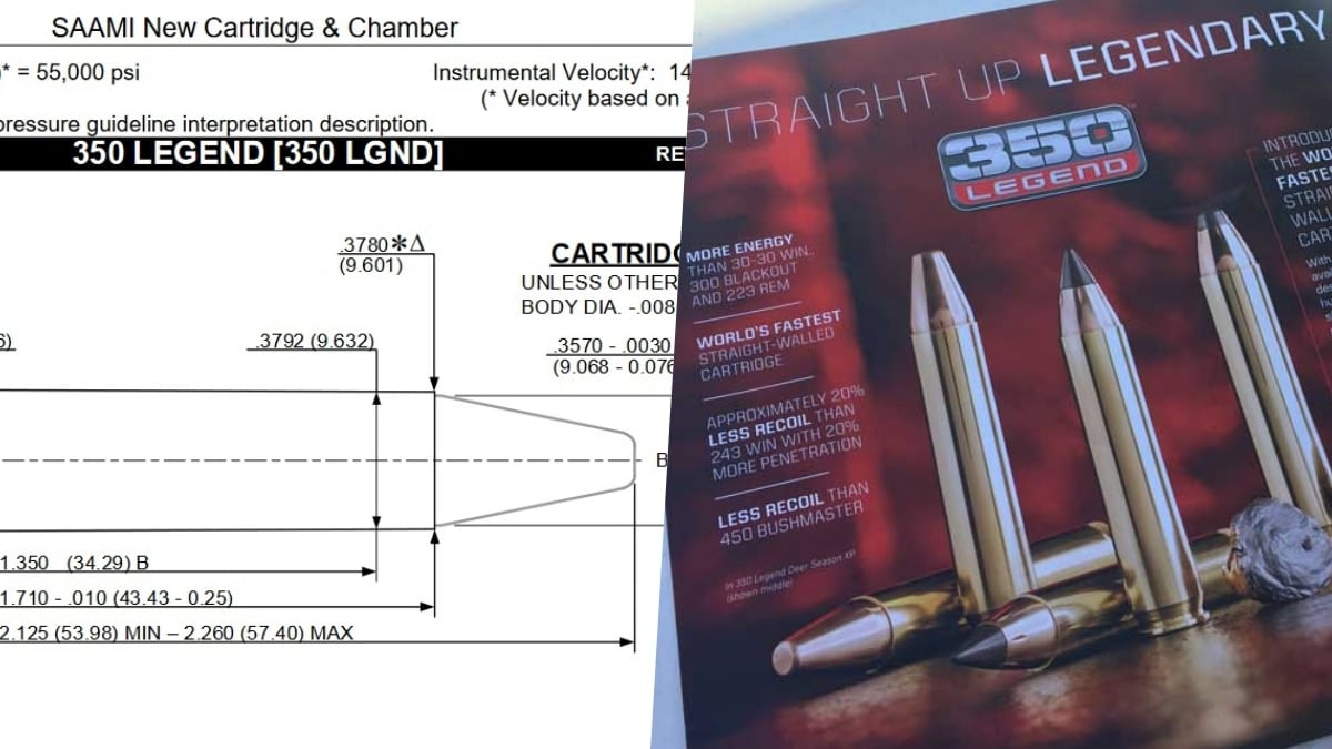 SAAMI approves new .350 Legend cartridge