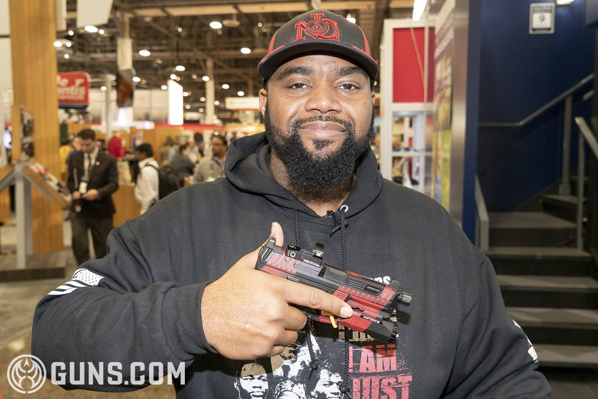 Kevin Dixie, The Truth, pistol, NOC Training