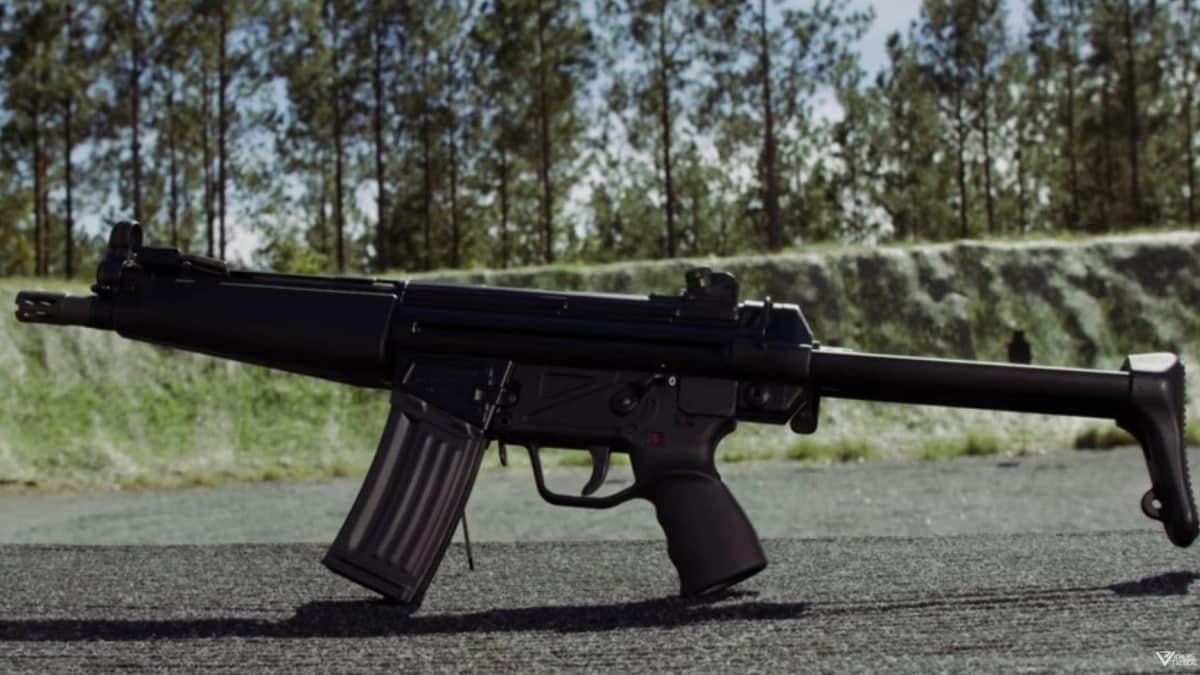The oh-so-sweet German HK53 in 5.56mm (VIDEOS)