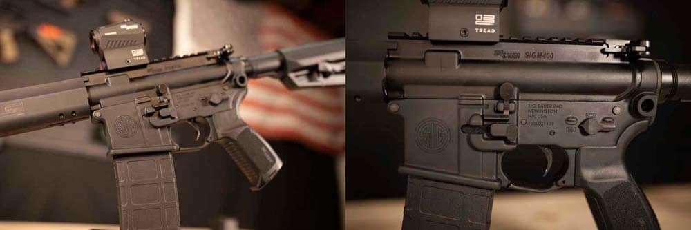 Sig M400 TREAD The New Face of Freedom (VIDEO)