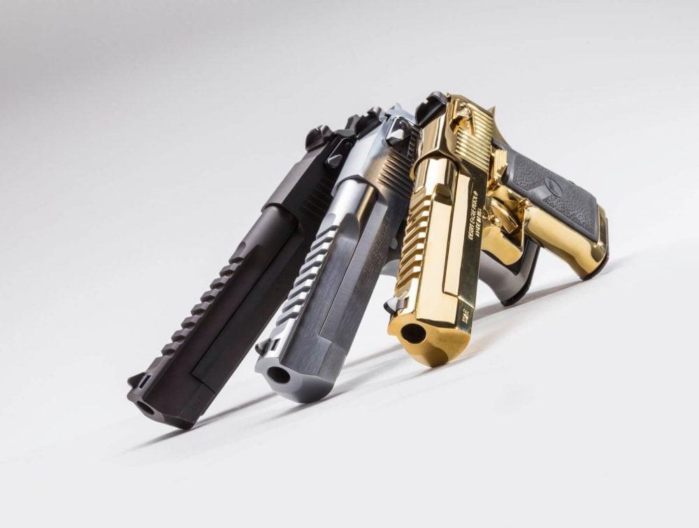 MRI Desert Eagle pistols