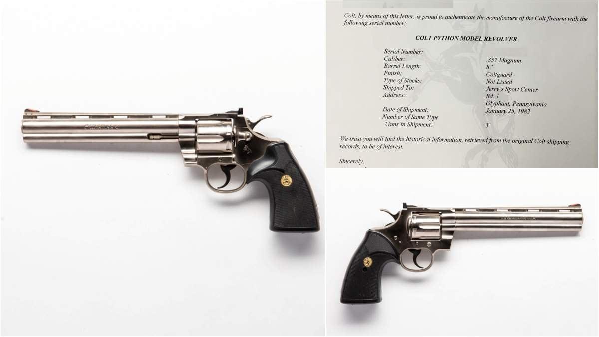 Colt Python 8 inch