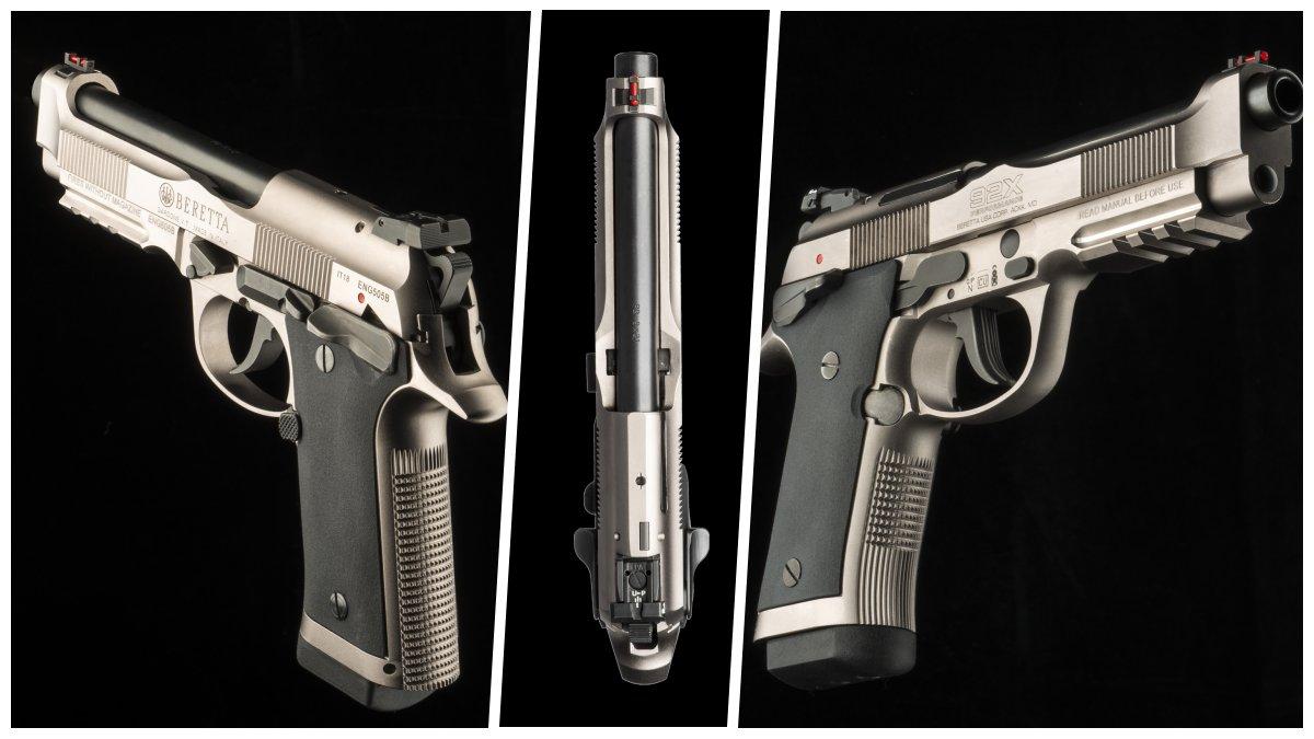 Beretta debuts new steel-framed 92X competition pistol (VIDEOS)