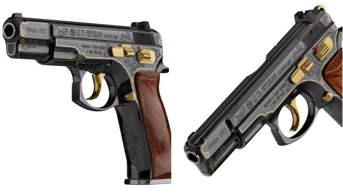 CZ 75 Republika model for Trump