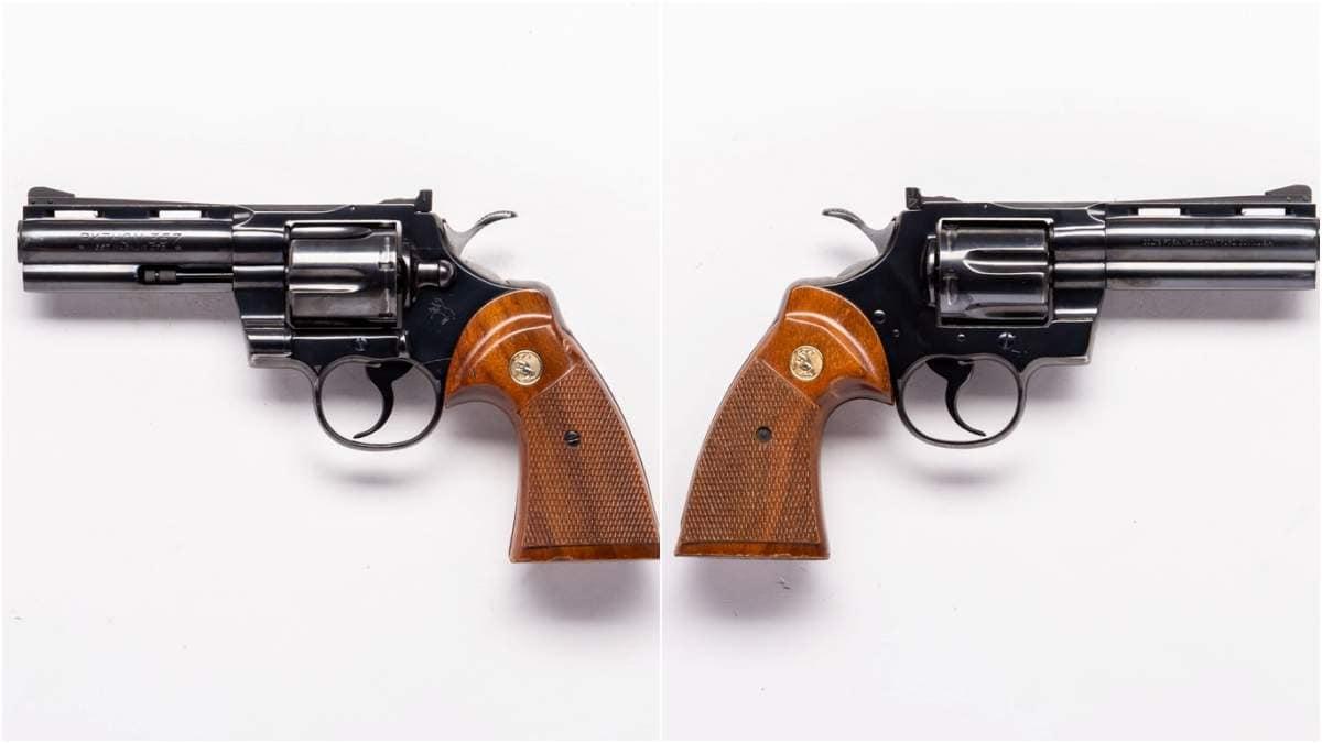 Colt Python 4 inch blued