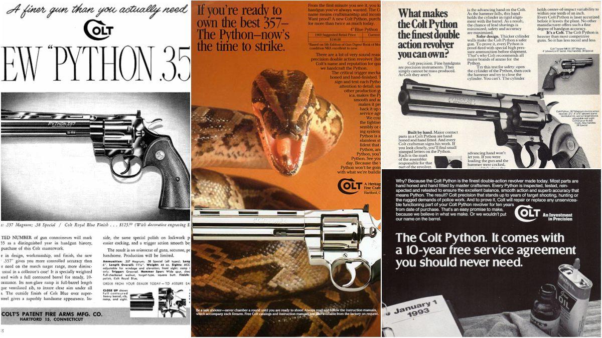 Colt Python ads