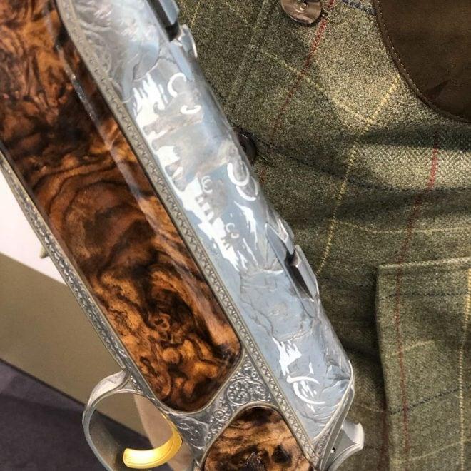 Custom Sauer S 404 Stoneage rifle detail