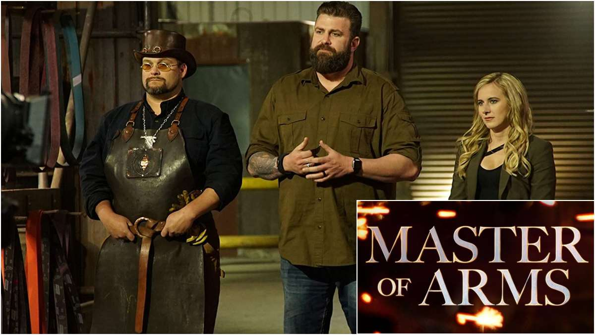 Master Of Arms totle scene with judges