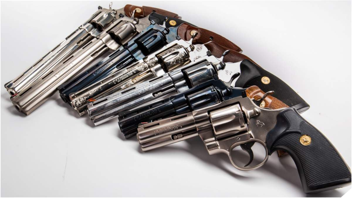 From The GDC Warehouse: Classic Colt Python Revolvers