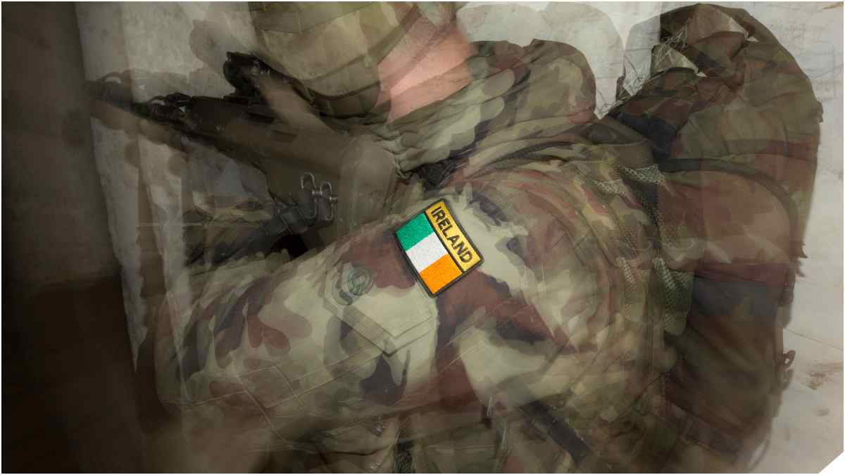 Happy St. Patrick's Day: Guns Of The Irish Army (VIDEOS)