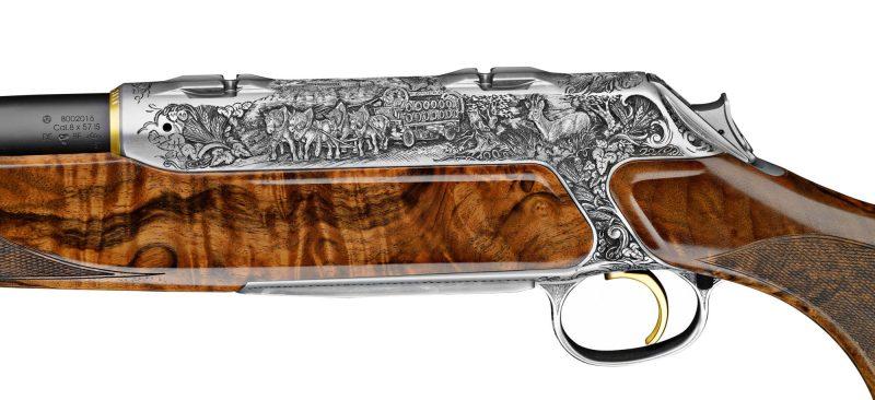 Sauer Hops and Malt S404 rifle