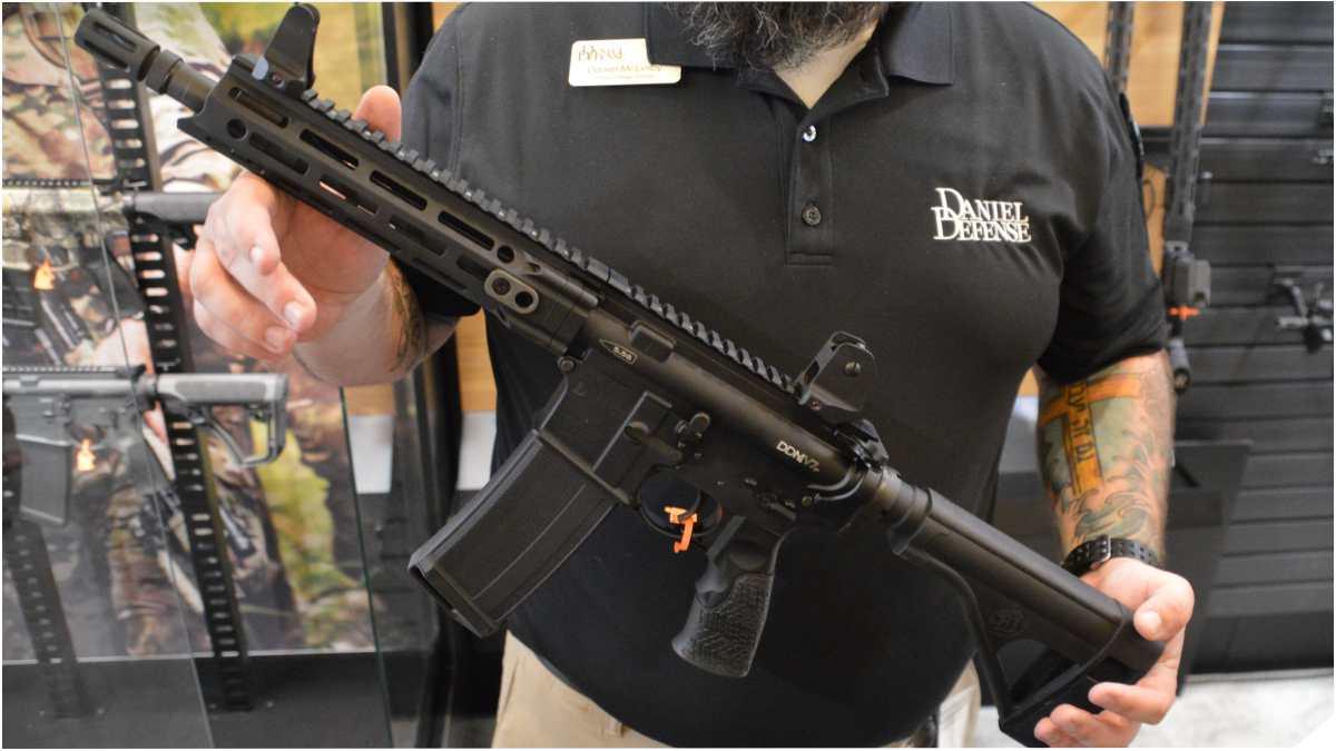 Daniel Defense braced pistol