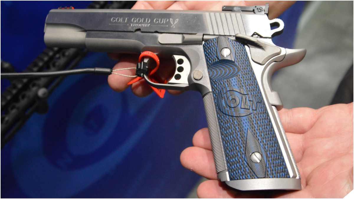 Colt Gold Cup 1911 pistol