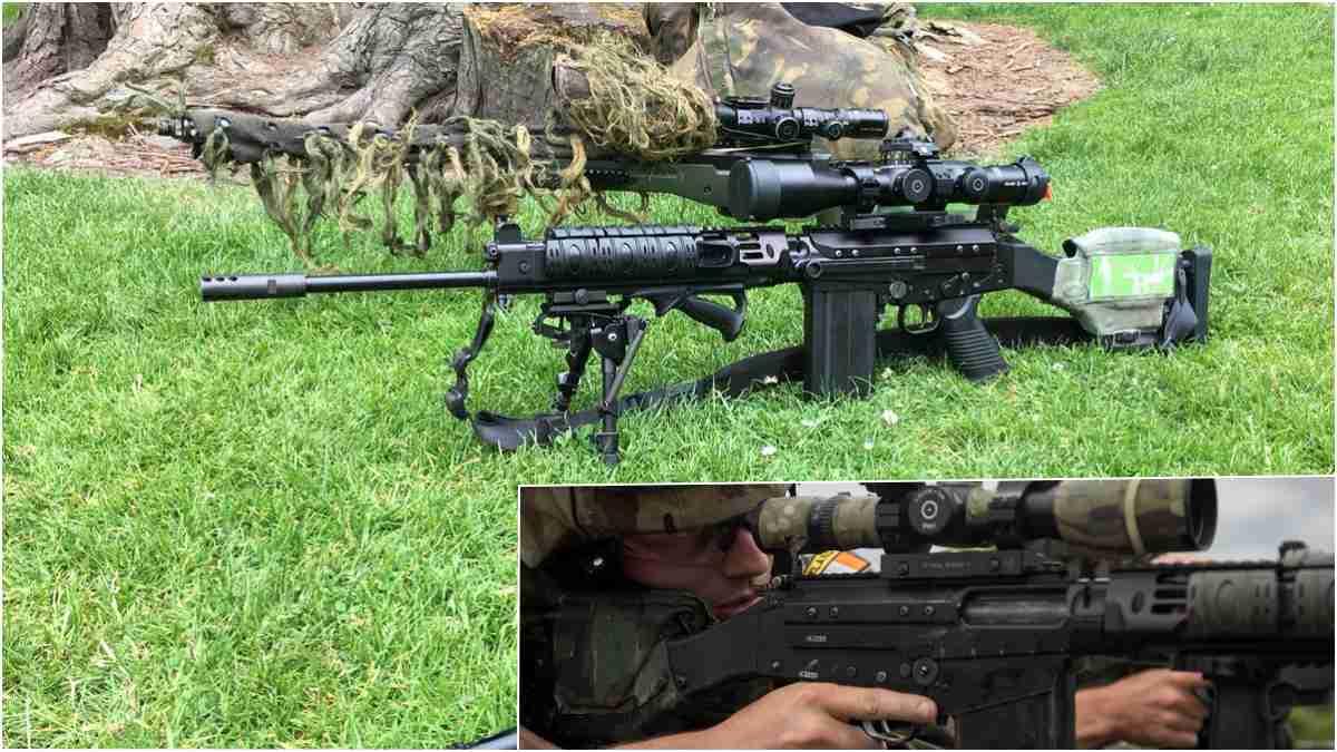 Irish FAL DMR rifles