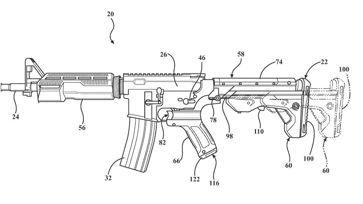 Bump stock patent