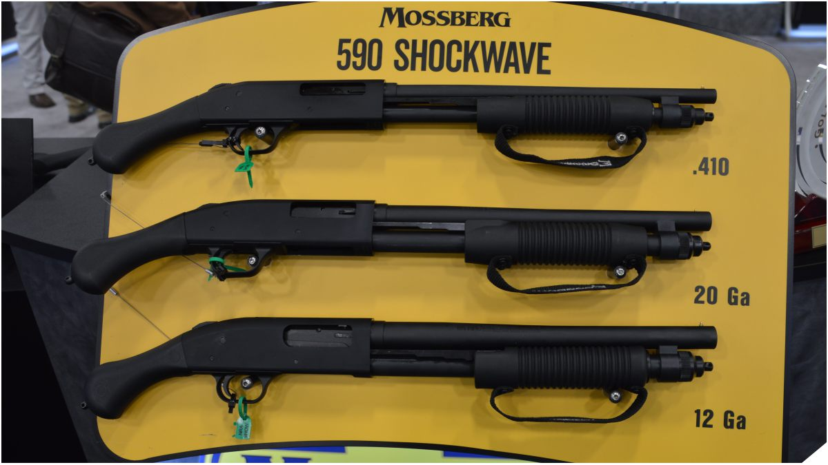 Mossberg Shockwave 590 display