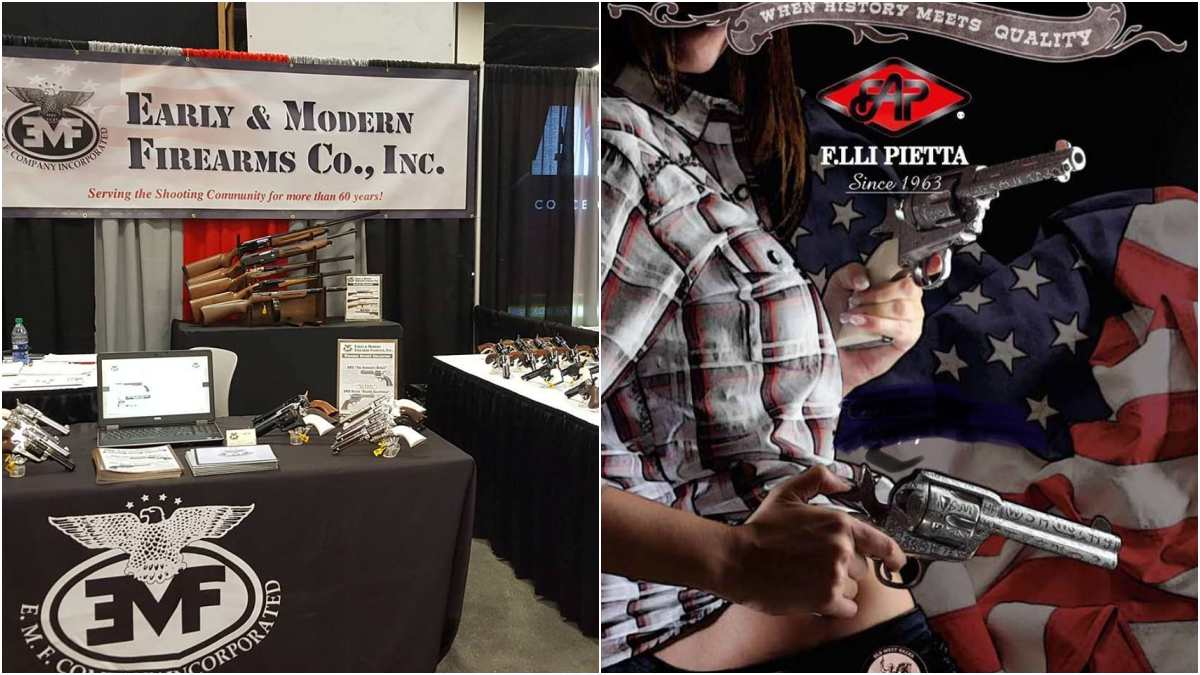 Pietta Firearms Buys EMF With Eye On Continuing U.S. Operations