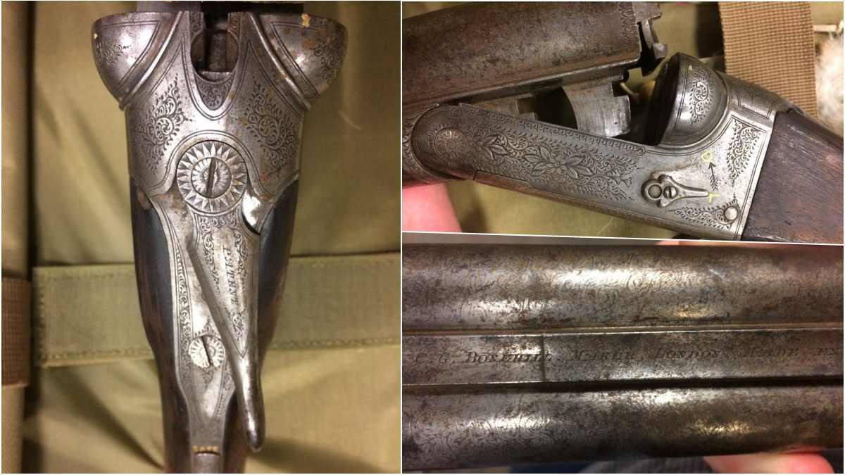 C.G. Bonehill side-by-side shotgun