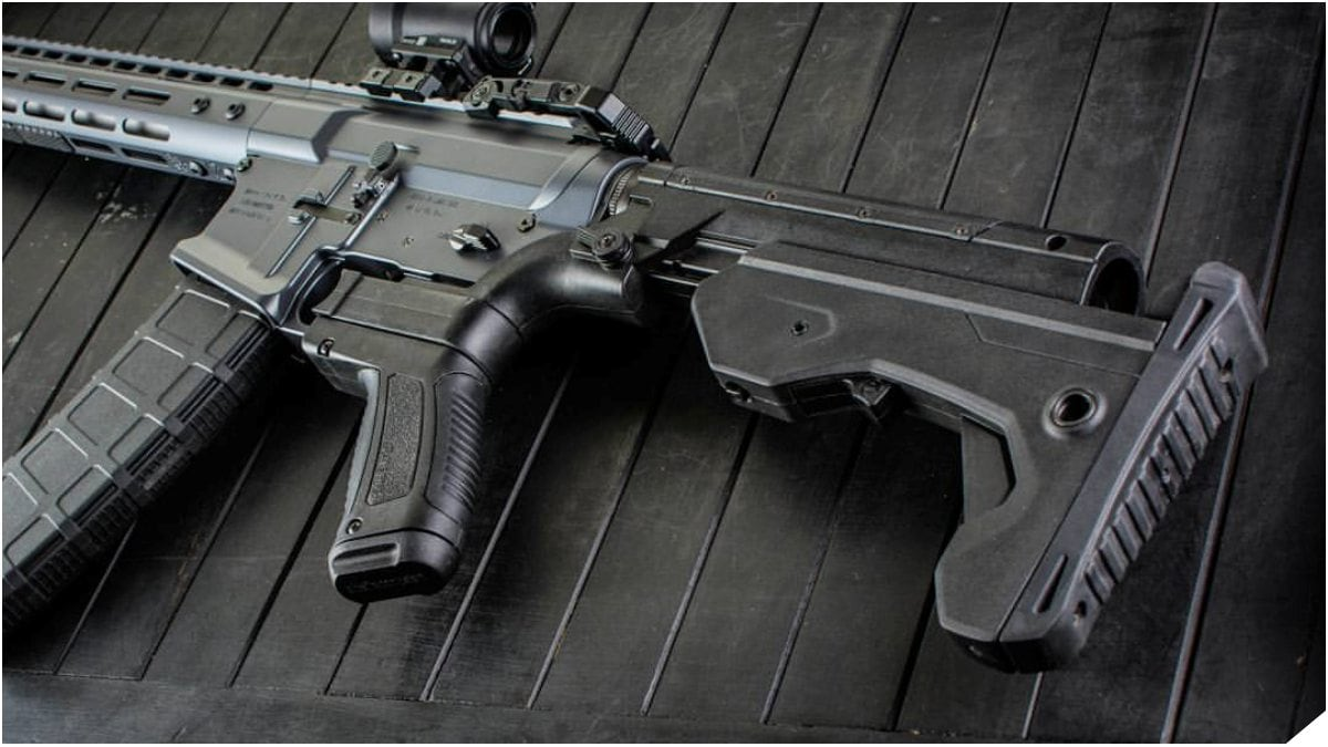 Slide Fire Solutions Bump Stock on AR-15