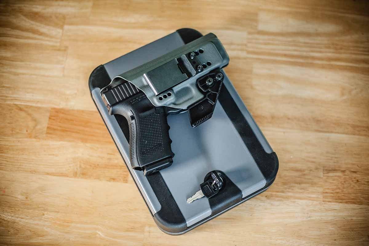 gun safe, safetech