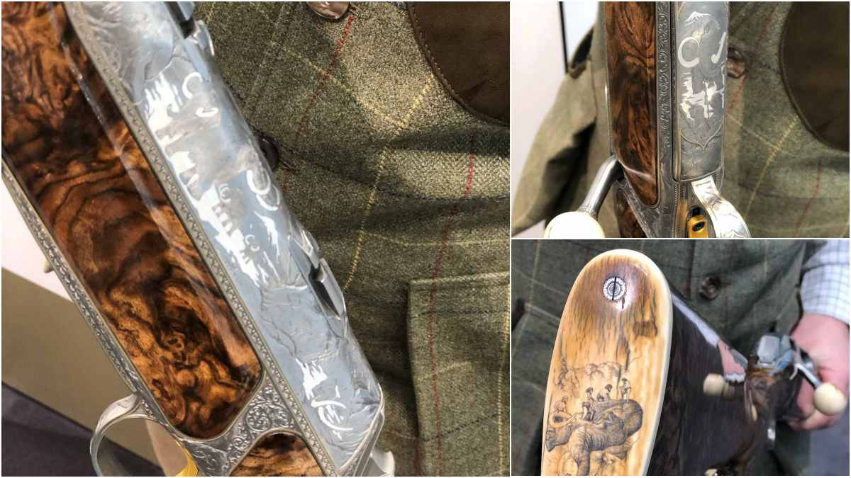 Stone Age Hunters Honored On Exquisite Custom Sauer S 404 (PHOTOS)