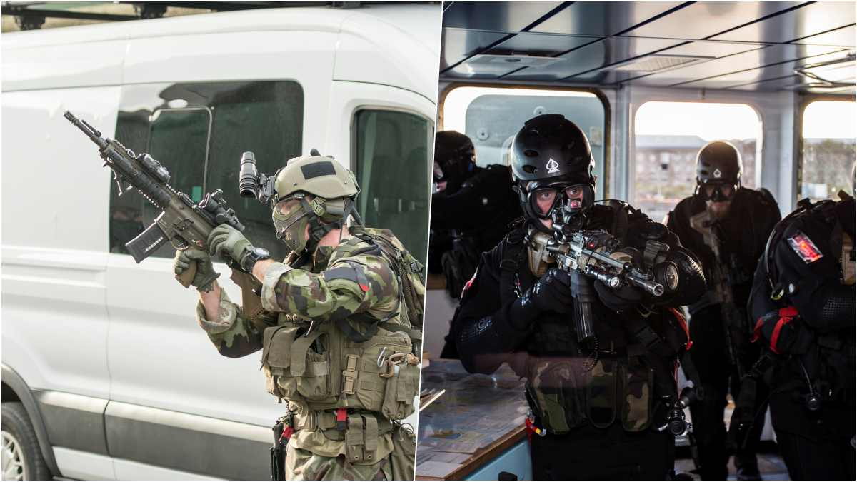 The Irish Ranger Wing sports HK 416 and 417s with all the aftermarket extras (Photo: Irish Army)