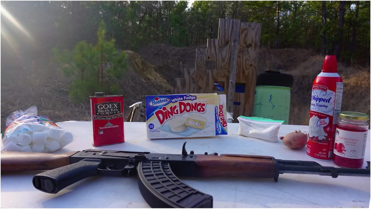 Will it AK?: Ditching the dust cover to insert peculiar debris (VIDEOS)