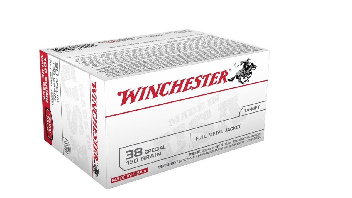 Winchester recalls 3 lots of .38 Special ammo