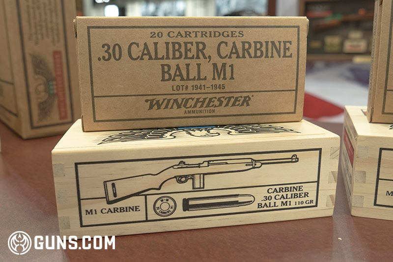 Winchester WWII Victory Series .30 cal ball M1 Ammunition
