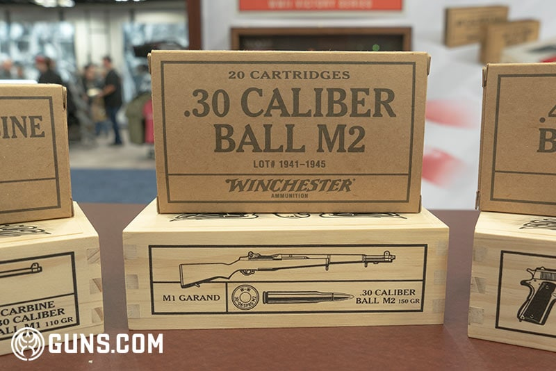 Winchester WWII Victory Series .30 cal ball M2 Ammunition